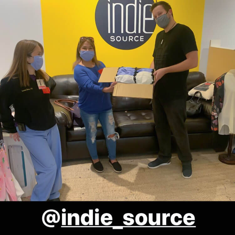 Indie Source Donate Life Face Mask