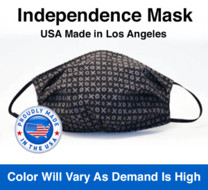 Independence Mask USA Made in Los Angeles